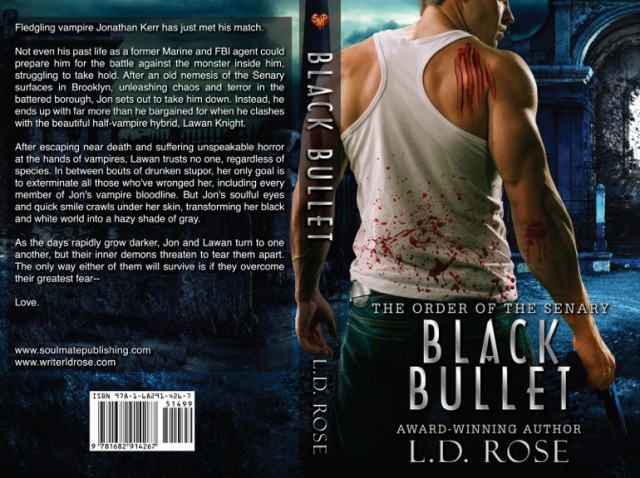 BLACK BULLET LD Rose FLAT