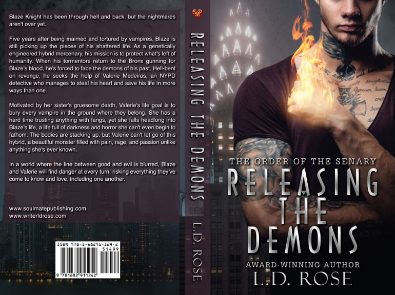 RELEASING THE DEMONS LD Rose FLAT