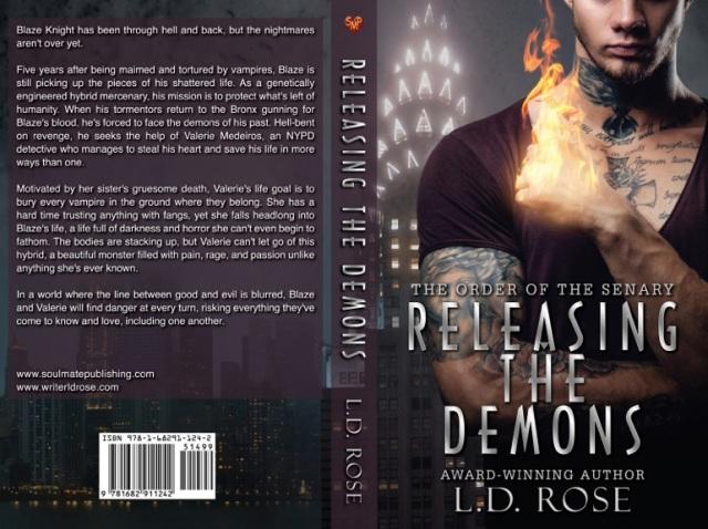 RELEASING THE DEMONS LD Rose FLAT
